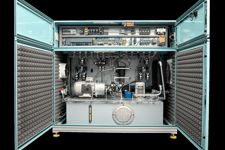 The hydraulic power unit