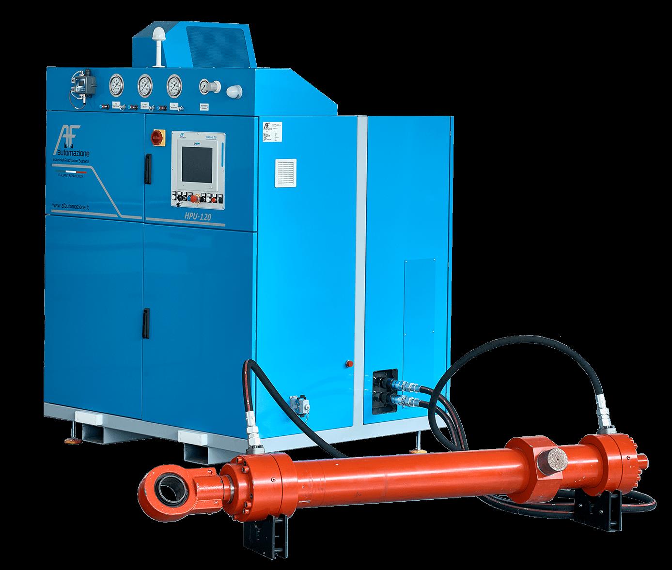 The hydraulic power unit 3